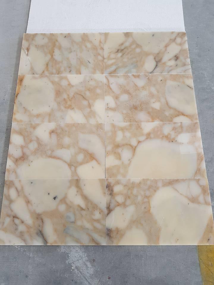 Afyon Sugar Violet Marble Tiles Beige Marble Tiles