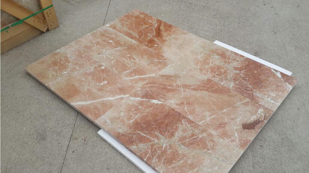 Agean Rose Marble Spanish Pink Marble Stone Tiles