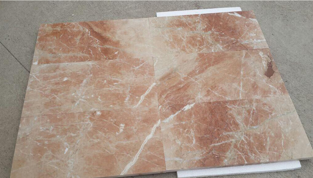 Agean Rose Marble Tiles Pink Polished Marble Stone Tiles