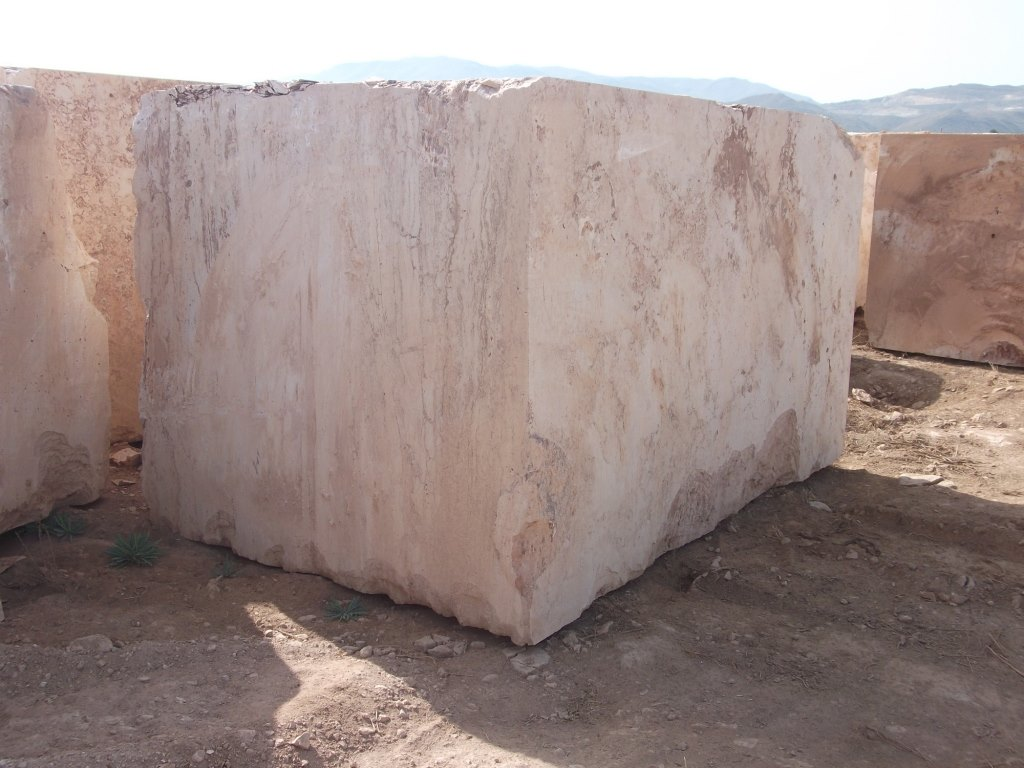 Al Andalus Travertine Natural Travertine Blocks