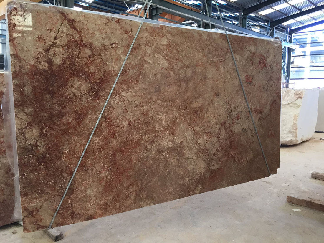 Al Andalus Travertine Slabs Brown Travertine Slabs