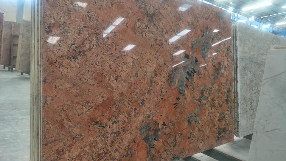 Alaska Pink Granite Polished Slabs