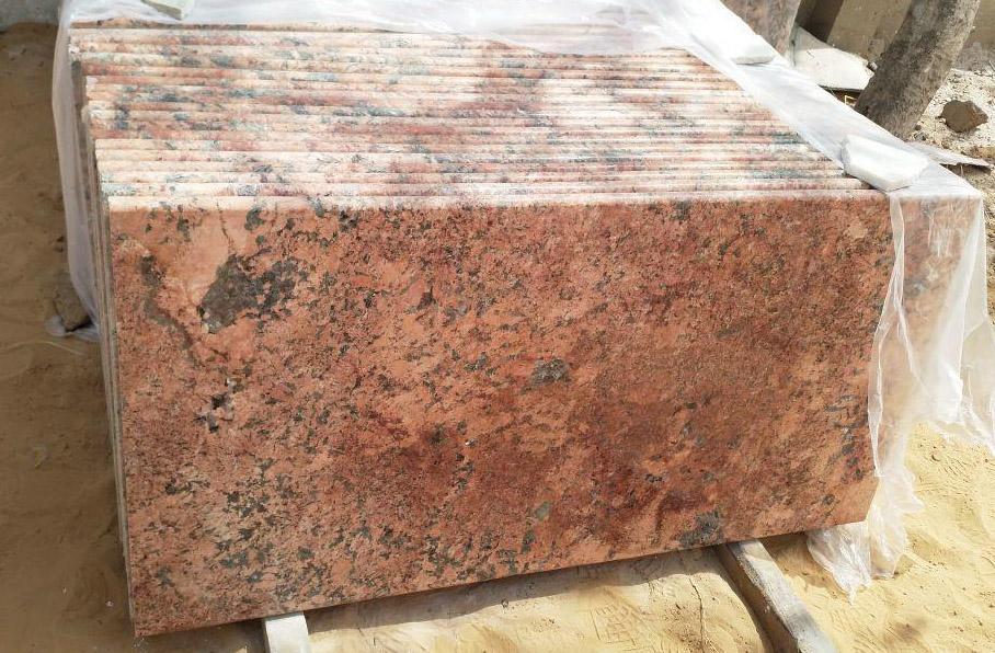 Alaska Pink Tiles Pink Granite Flooring Tiles