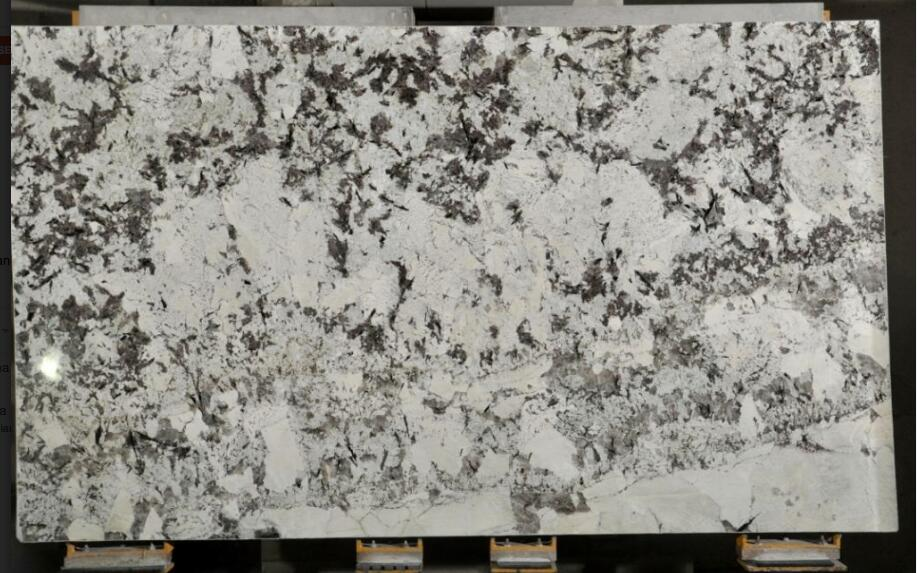 Alaska White Granite Slab White Polished Granite Slabs