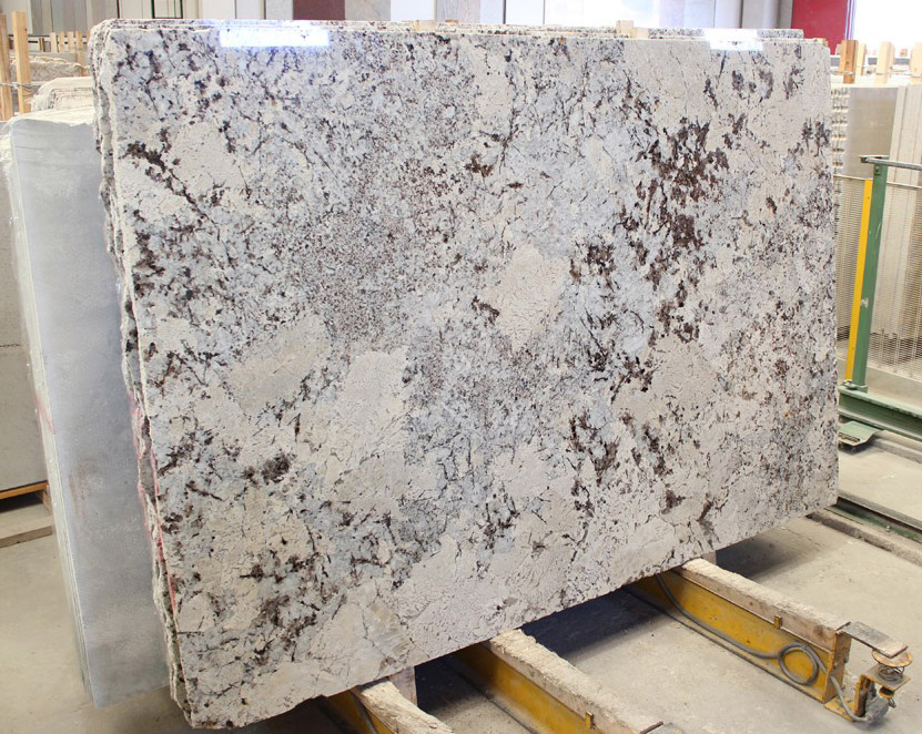 Alaska White Granite Slabs Polished White Granite Slabs