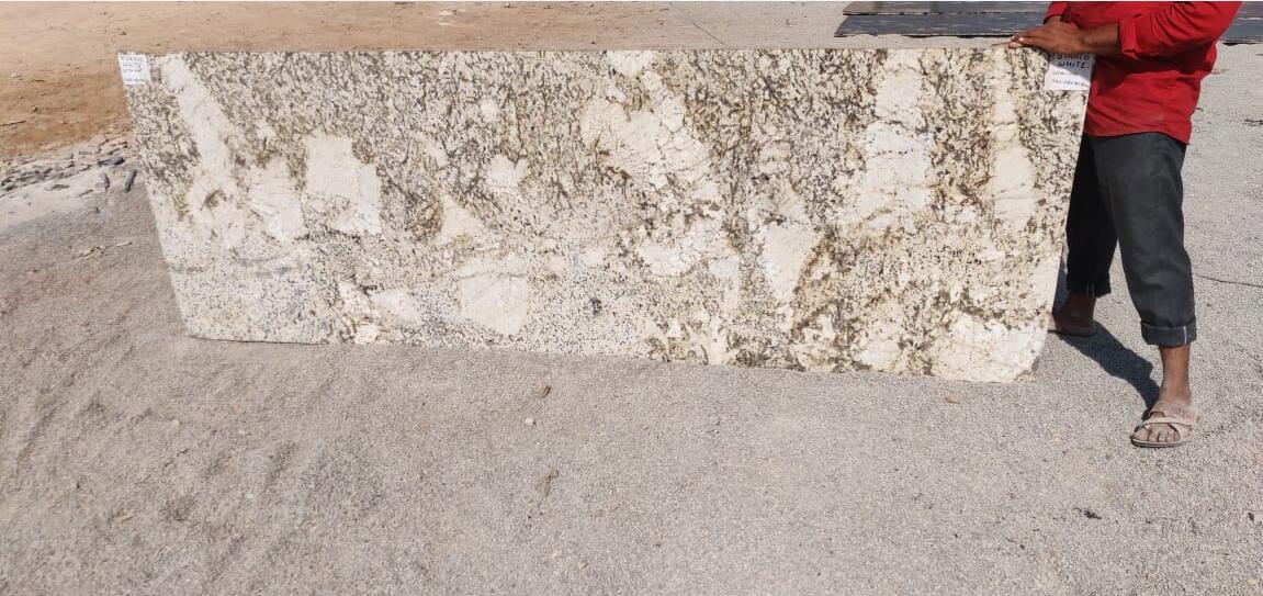 Alaska White Slabs Indian White Granite Slabs