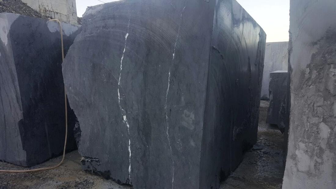 Alexandra Black Marble Blocks Turkish Marble Blocks