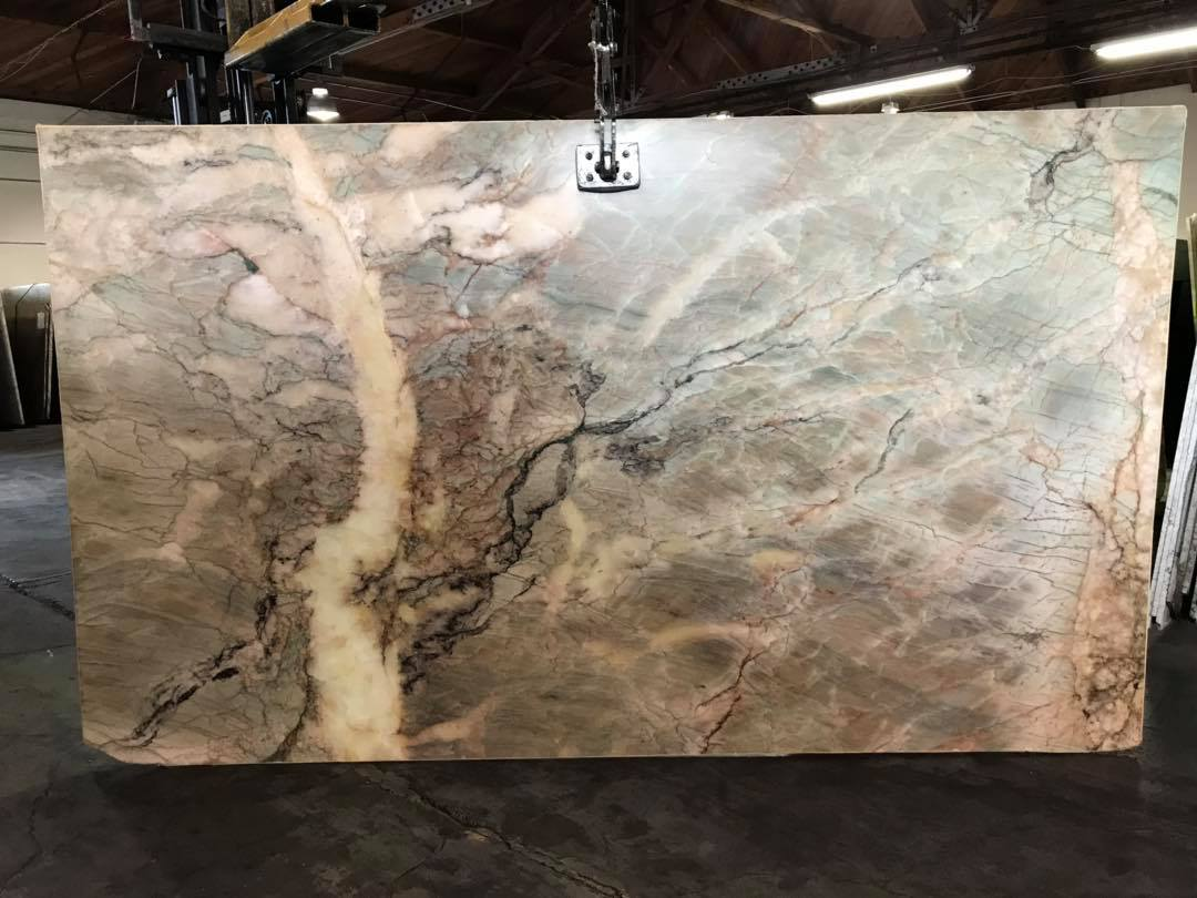 Alexandria Quartzite Slabs Green Quartzite Slabs