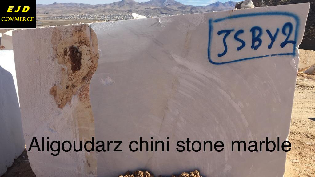 Aligoudarz Chini White Marble Natural Stone Blocks