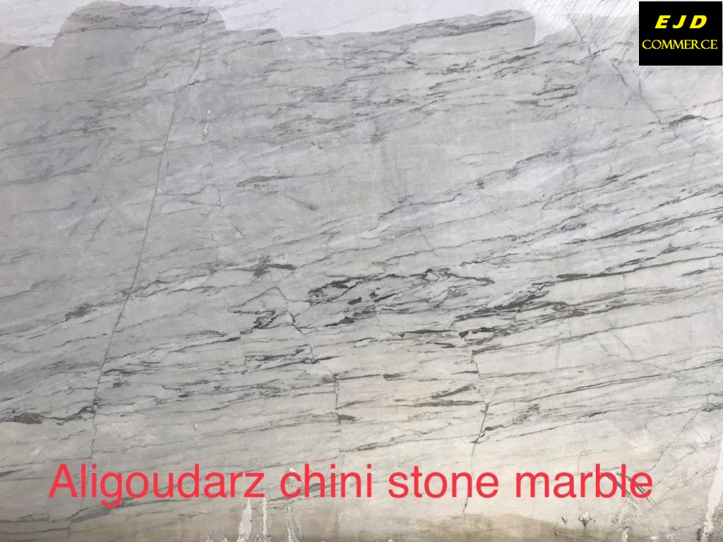 Aligoudarz Chini White Marble Stone Natural Marble Blocks