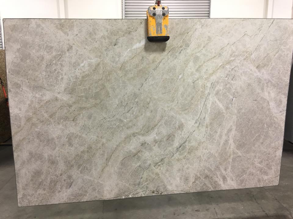 Allure Quartzite Leathered White Quartzite Slabs