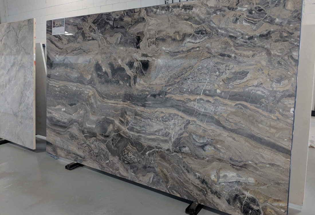 Alluvium Marble Italy Grey Polished Marble Slabs