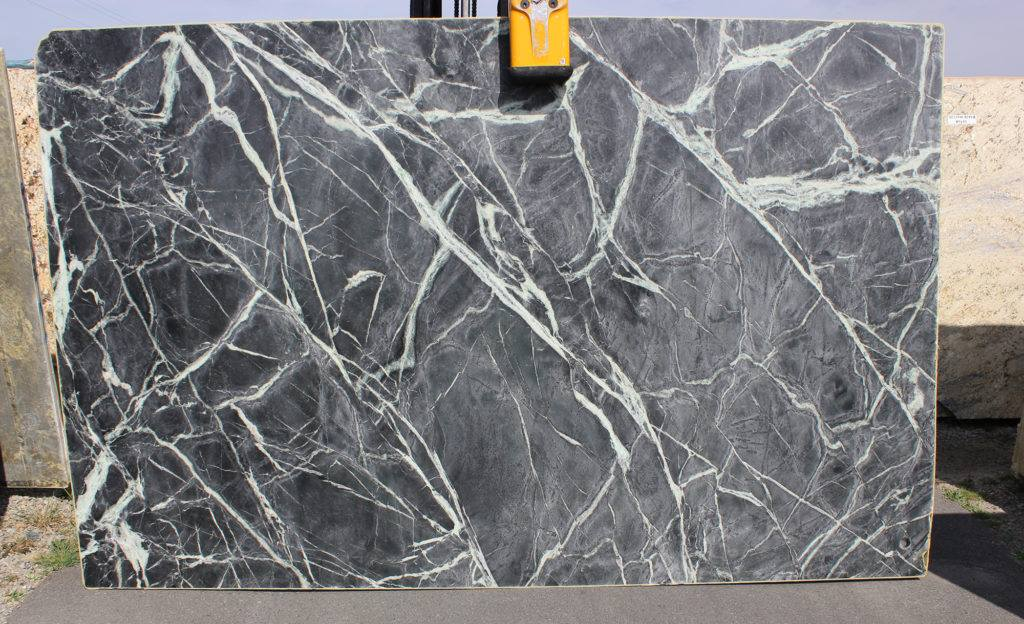 Alpine Gray Soapstone Slabs from Brazil