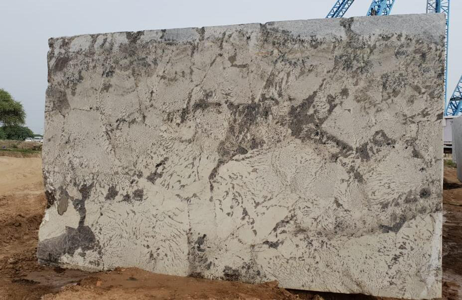 Alpine White Granite Natural White Granite Blocks