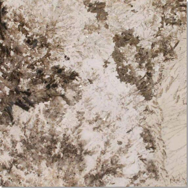 Alpine White polished granite