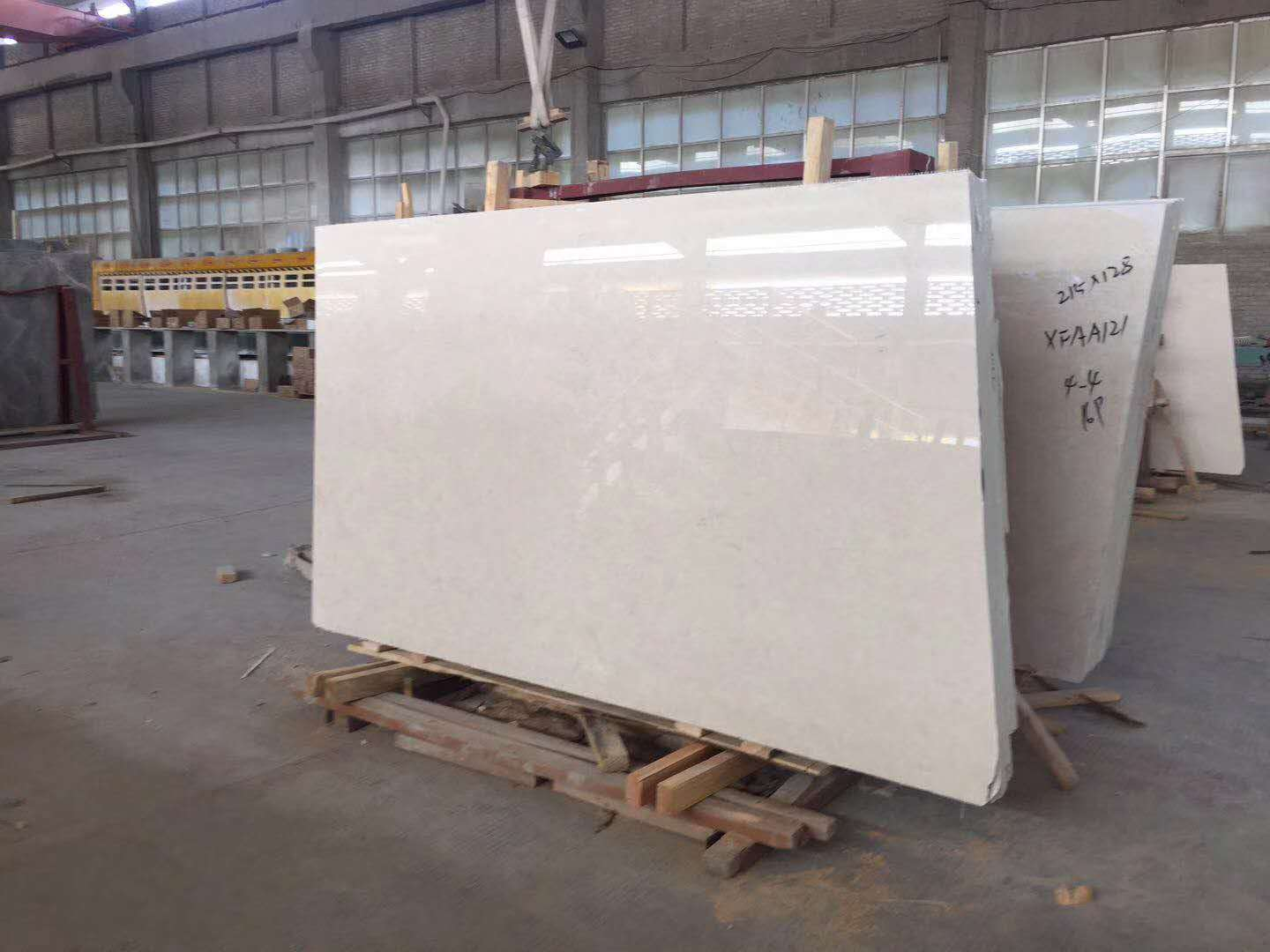 Altman Beige Marble Slabs for Bathroom Countertops