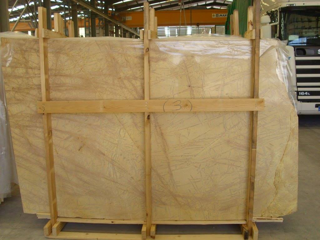 Amarillo Triana Marble Slabs Polished Yellow Marble Slabs