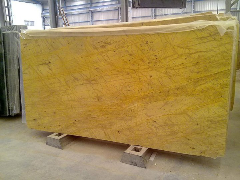 Amarillo Triana Marble Slabs Yellow Marble Slabs