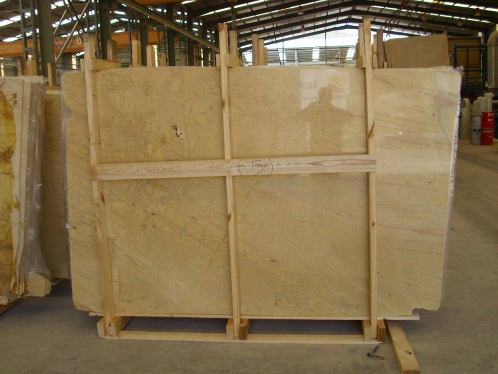 Amarillo Triana Marble Yellow Polished Marble Slabs