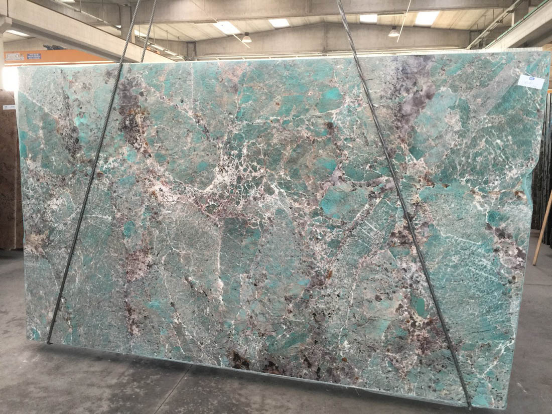 Amazzonite Green Natural Quartzite Slabs