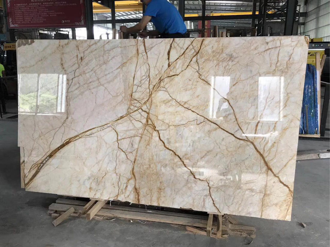 Amber Gold Marble Slabs from Chinese Suppliers