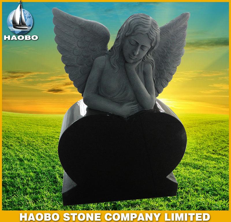 American Black Granite Monument HBMA001