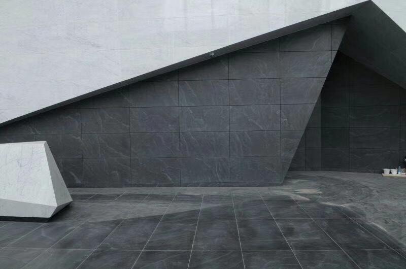 American Virginia Black Jet Mist Black Granite Building Materials