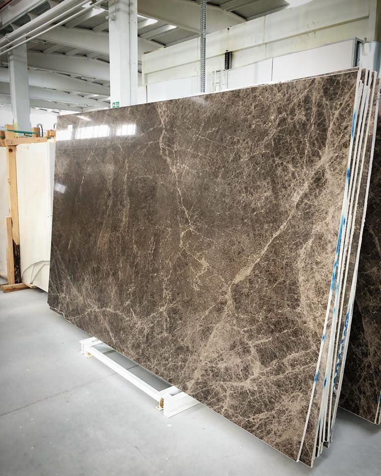 Amore Brown Marble Slabs Polished Brown Slabs