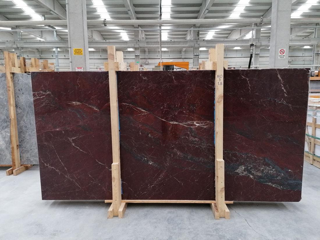 Anatolian Wine Marble Slabs Turkish Premium Marble Stone Slabs