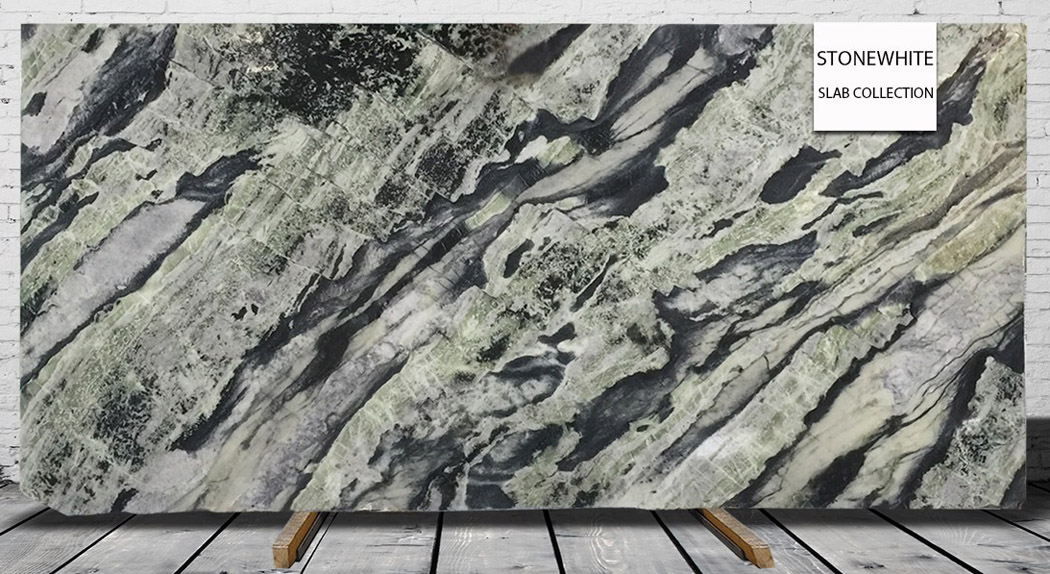 Ancient Green Slabs Polished Marble Stone Slabs