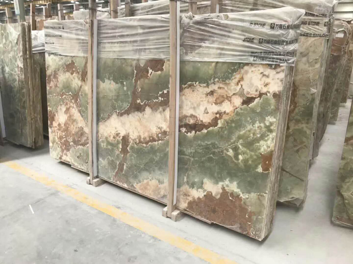 Ancient Jade Onyx Tiles Slabs from China Supplier