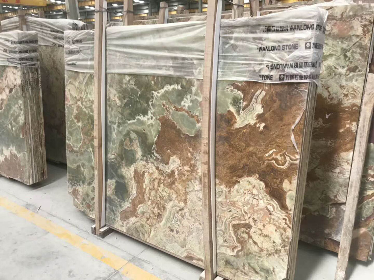Ancient Jade Onyx Tiles and Slabs