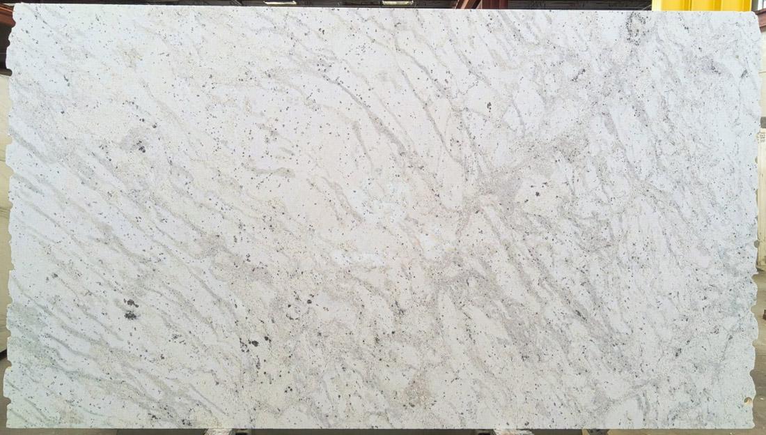 Andromeda 3cm Honed White Granite Stone Slabs