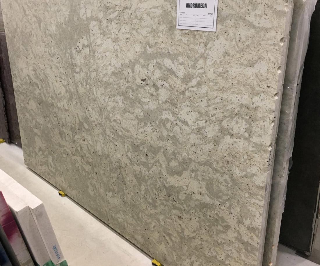Andromeda Granite Slabs White Polished Granite Slabs