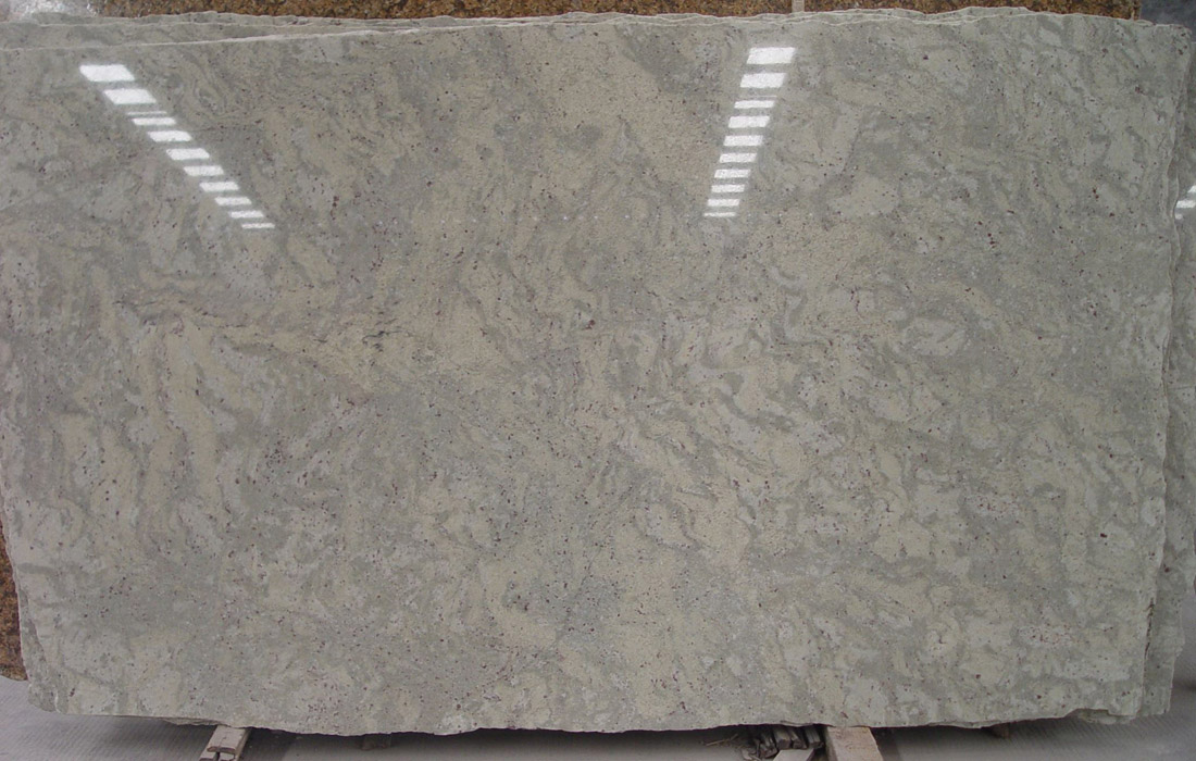 Andromeda White Granite Slab Polished Granite Slabs