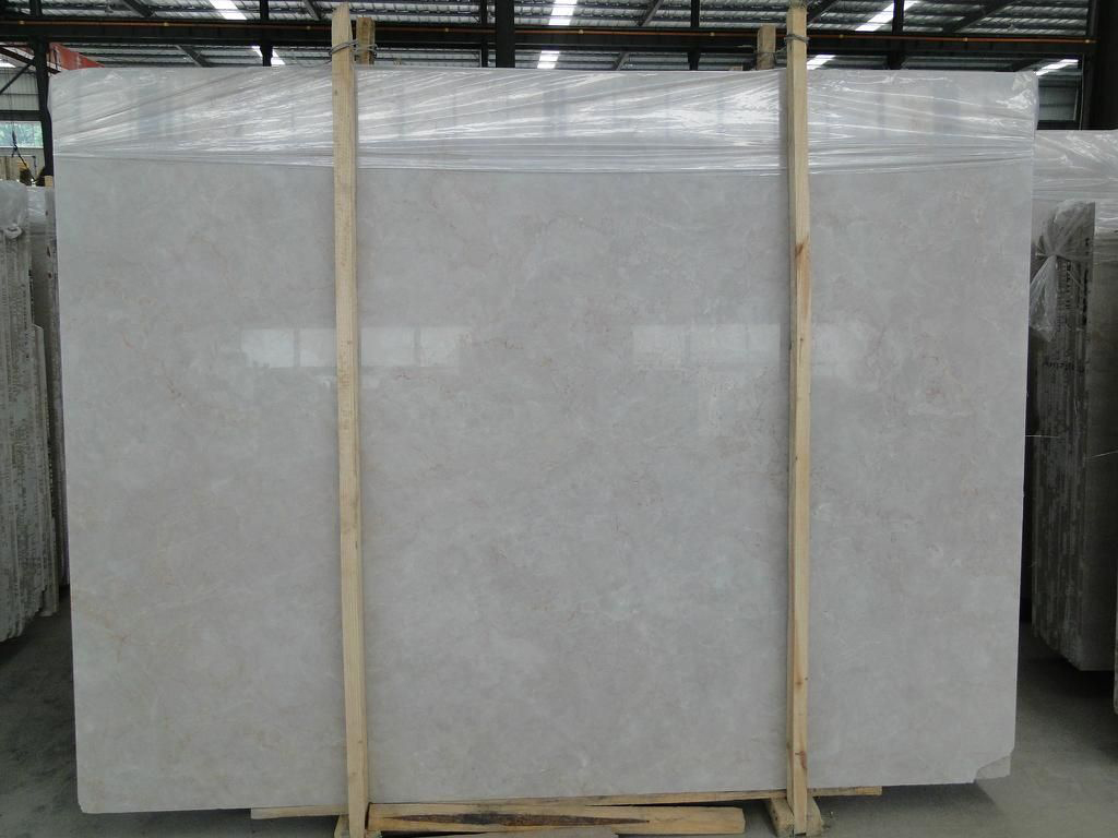Angel Beige Marble Slabs Polished Marble Slabs