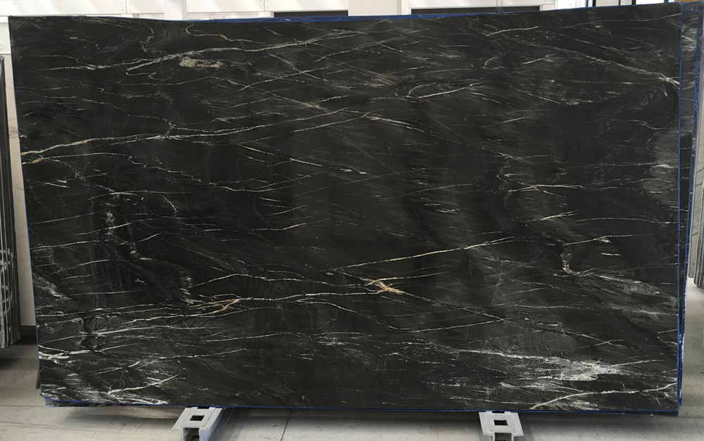 Angola Belvedere Granite Slabs Black Polished Granite Stone Slabs