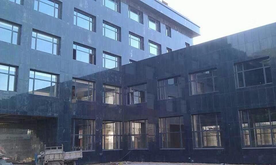 Angola Black Crystal Black Granite Wall Cladding Tiles