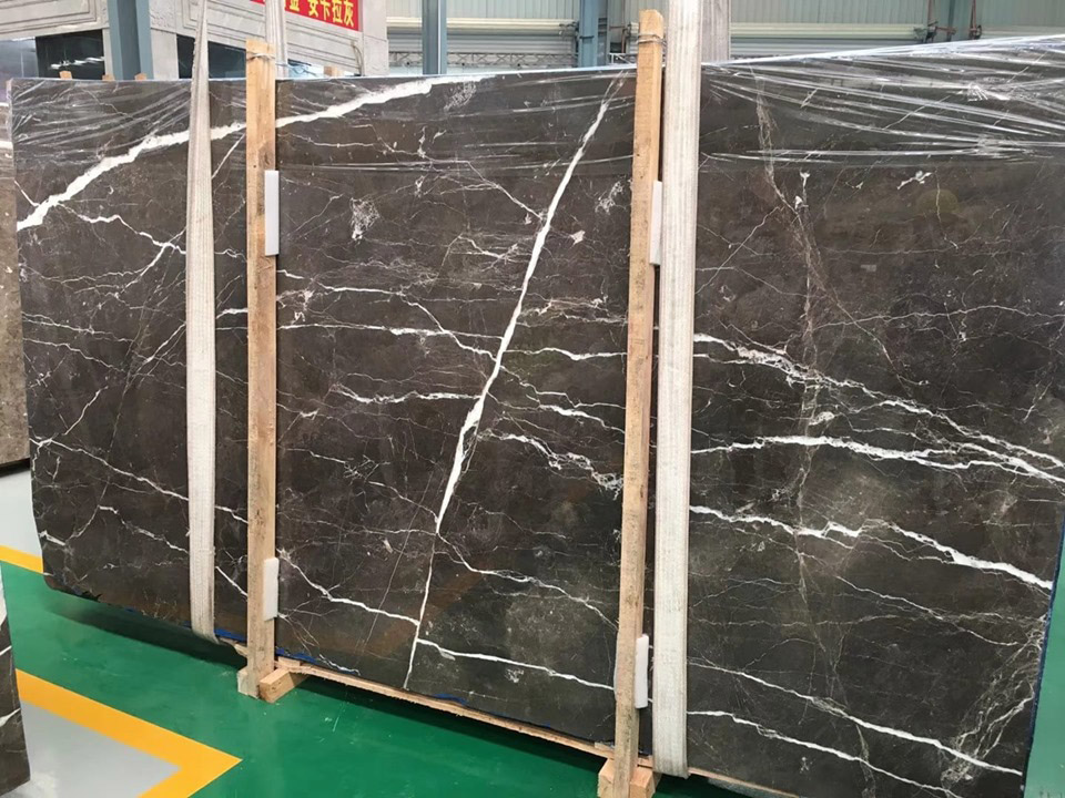 Ankara Grey Marble Chinese Polished Grey Marble Slabs