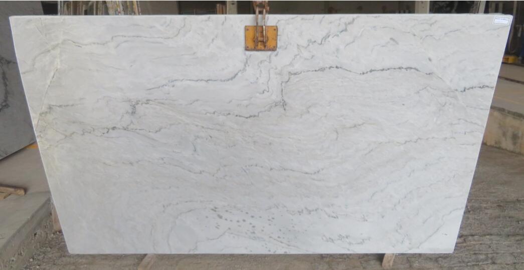 Antares White Quartzite Stone Slabs White Brazil Quartzite Stone Slabs