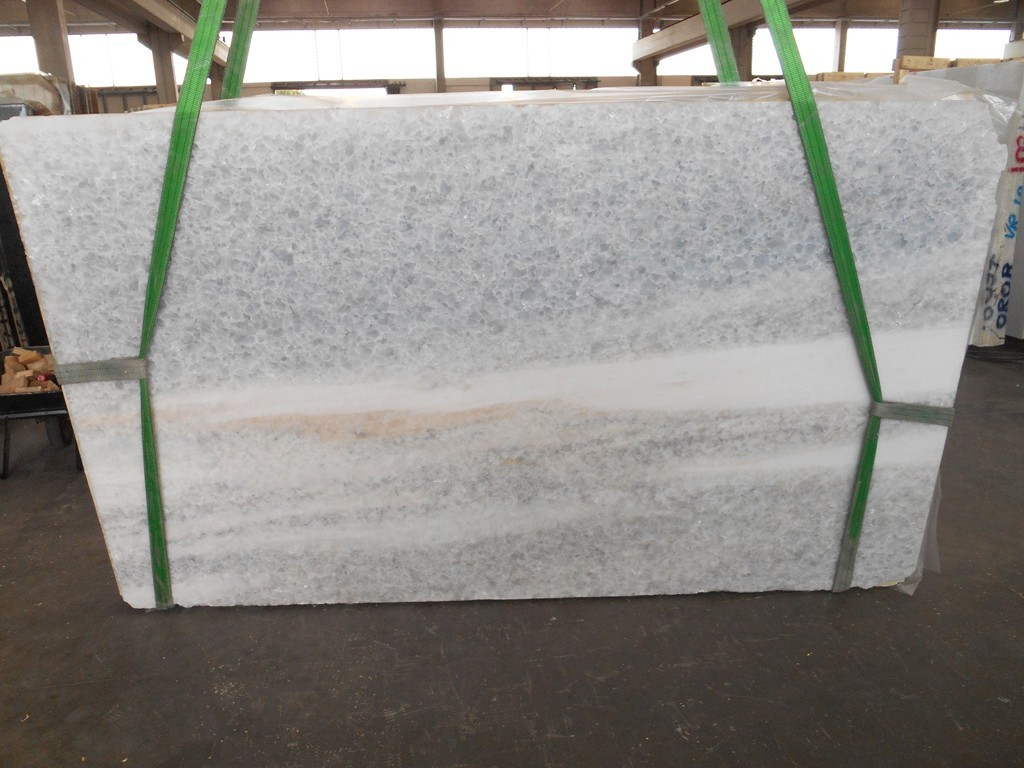 Antartide Slabs Polished White Marble Slabs 280x165x2cm