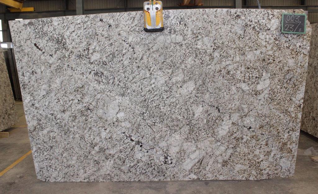 Antico Cream Granite Slabs Polished White Granite Slabs