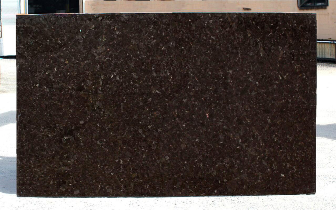 Antique Brown Granite Slabs Polished Brown Stone Granite for Countertops