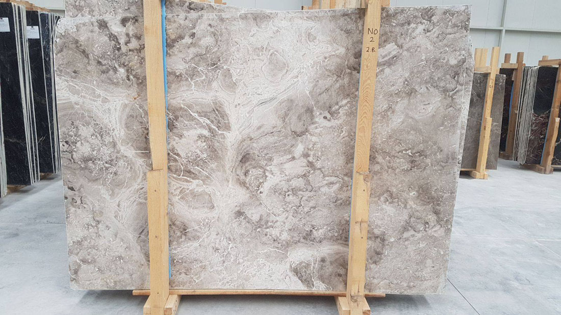 Aqua Grey Slabs Turkish Grey Marble Slabs