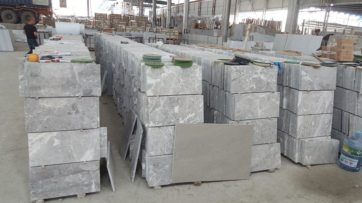Arab Grey Marble Flooring and Walling Tiles
