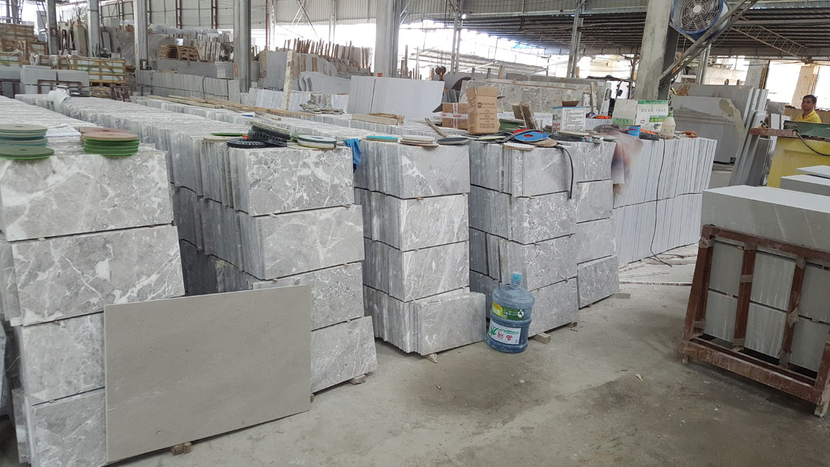 Arab Grey Marble Tiles from China