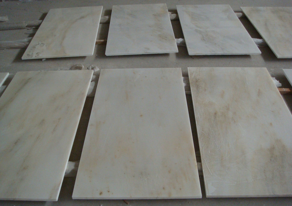 Arabescato Marble Flooring Tiles Polished Beige Marble Tiles