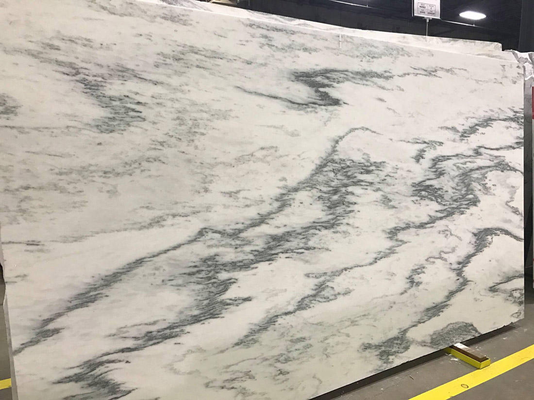 Arabescato Montclair Danby Honed Marble Slab White Marble Slabs