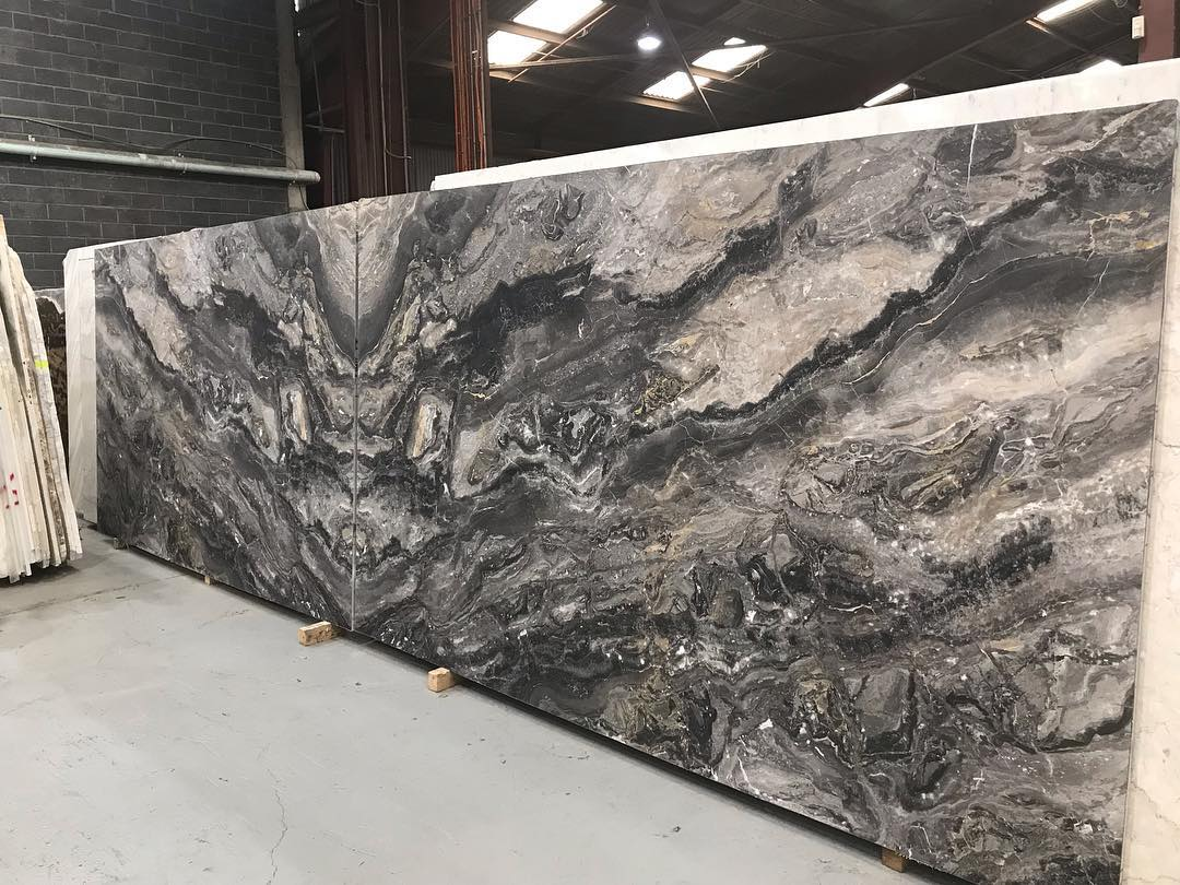 Arabescato Orobico Book Match Marble Slabs