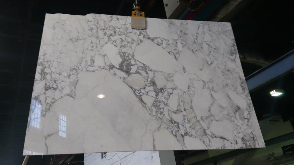 Arabescato Vagli 20mm Polished White Marble Slabs